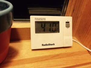 Indoor:OutdoorThermometer