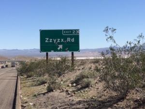RoadSignZzyzx