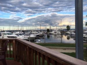 sails at Plattsburgh